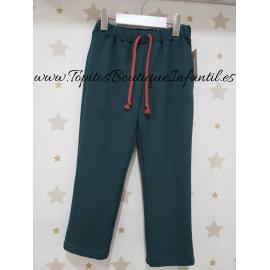 mia y lia pantalón verde